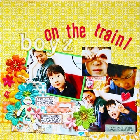 L038:Boyz on the Train