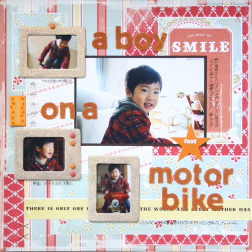 L020: A Boy on A Motor Bike