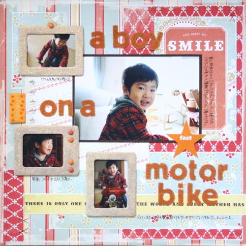 L020: A Boy on A Motor Bike