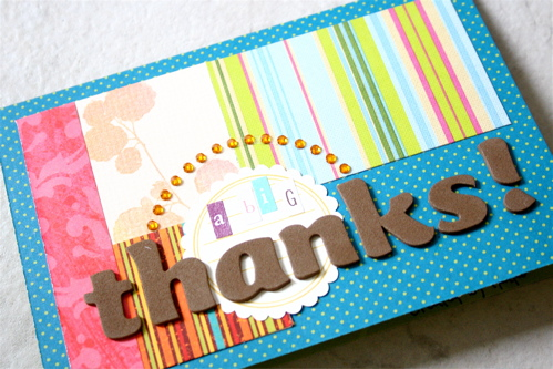 Mis018_3:Thank You カード