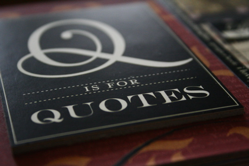 Mis014_4:Q Is For Quotes